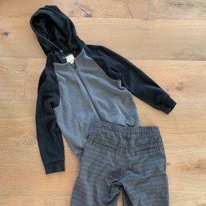 Boy Jacket and Shorts Bundle